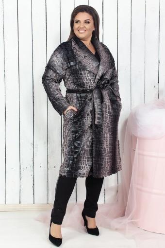 2e549a85231 Купить Женское пальто Питон 03960